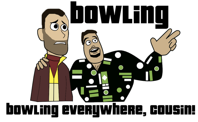 Grand Theft Auto IV - Bowling, Bowling Everywhere