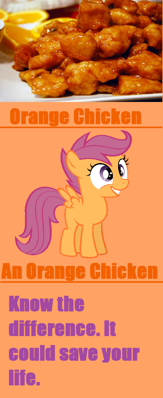 Orange Chicken. Know the difference.