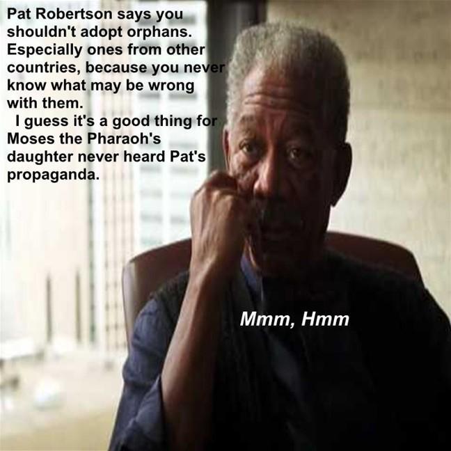 Morgan Freeman Mmm,Hmm moment