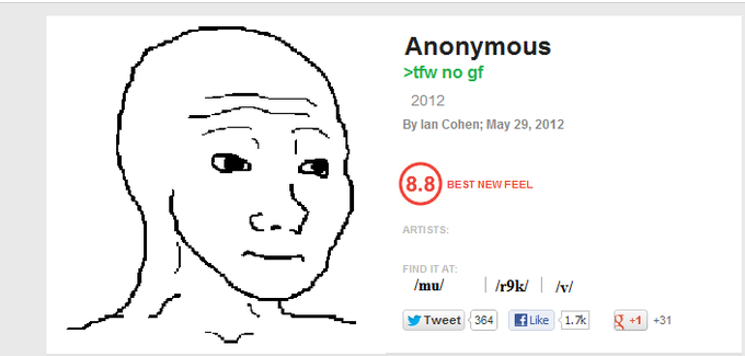 "Pitchfork reviews ""That Feel"""