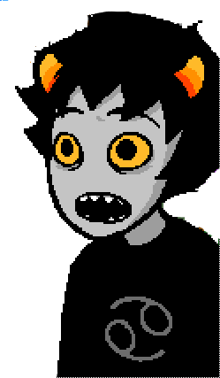 Karkat shocked