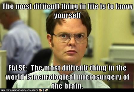 The most difficult thing