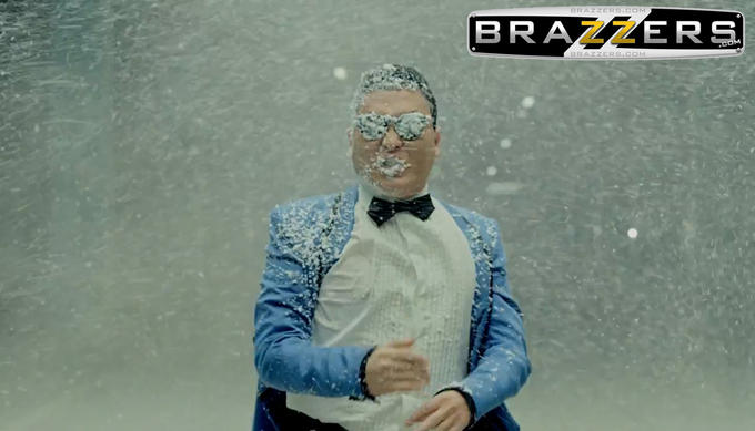 PSY Opa Brazzers style