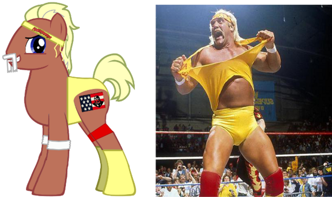 ponified (80's) Hulk Hogan