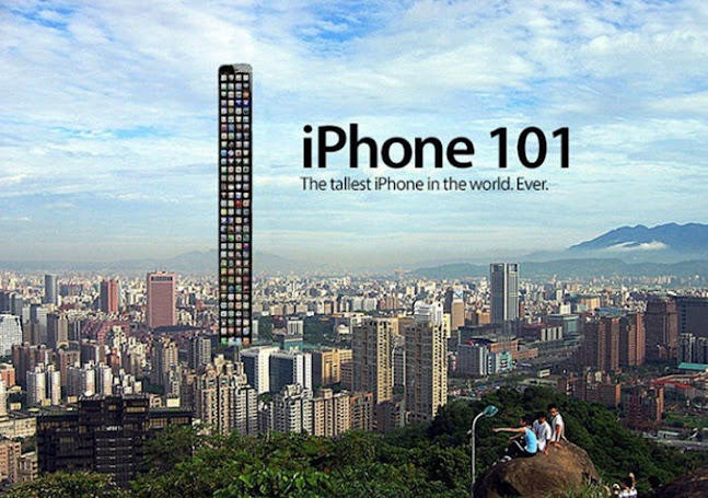 Iphone 6 commercial parody