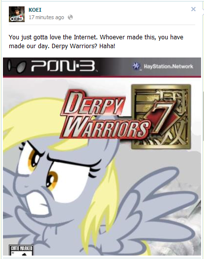 KOEI on Derpy Hooves