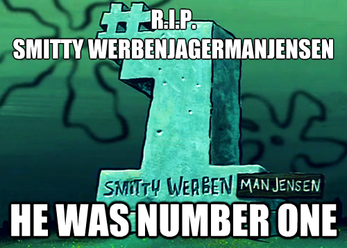 He was Number One...