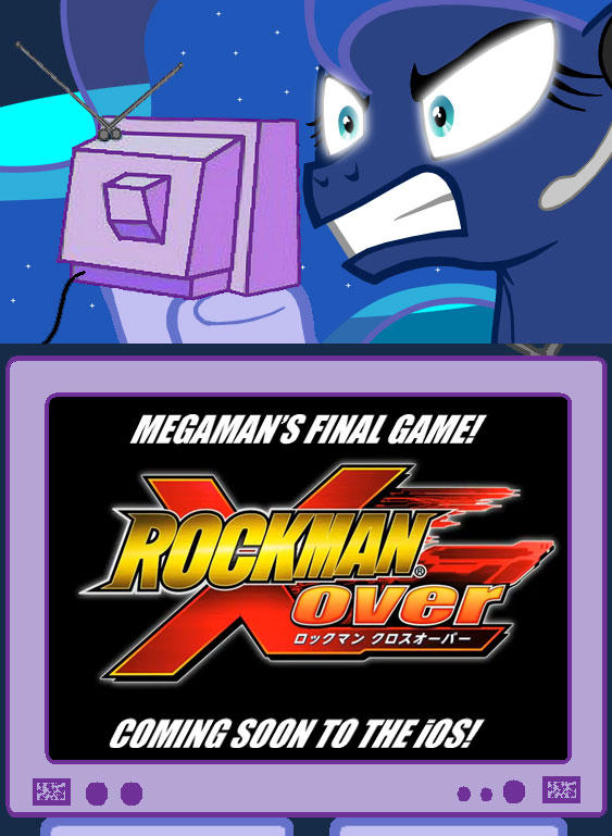 Gamer Luna does not approve of Capcom's insult of a Megaman game