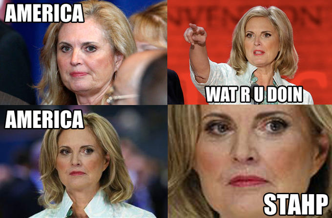 "Ann Romney says, ""Stop it."""