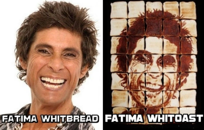 Fatima Whitbread Fatima Whittoast