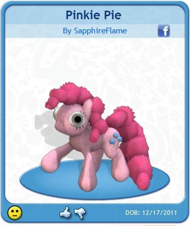 Spore Pinkie Pie Pony Model
