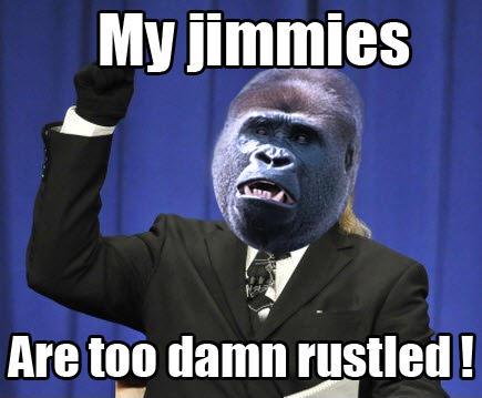 My jimmies are too damn rustled