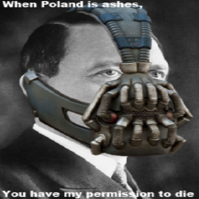 When Poland is ashes...