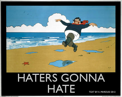 Haters Gonna Hate in Skegness!