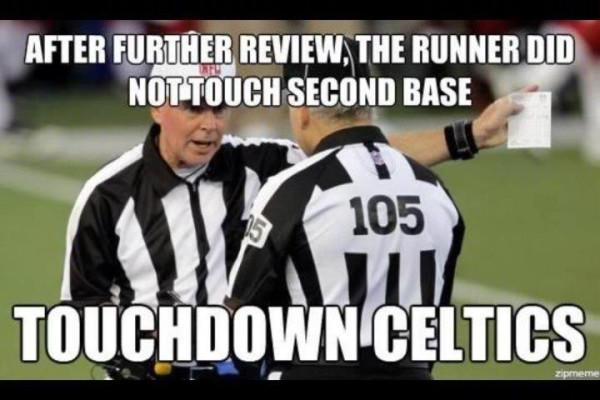 NFL Replacement refs in a nutshell