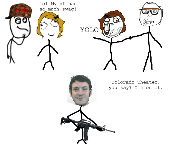James Holmes Is A Hero