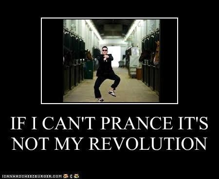Prancing Revolutionary