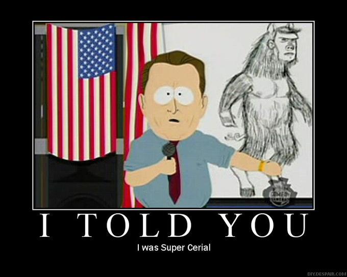 Man Bear Pig is true