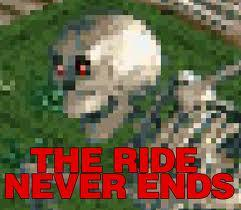 The Ride Never