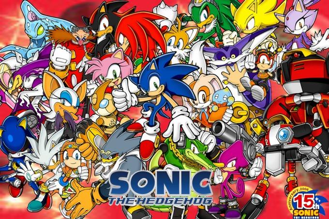 The Sonic the Hedgehog full cast