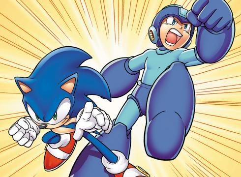 Sonic and Mega Man..