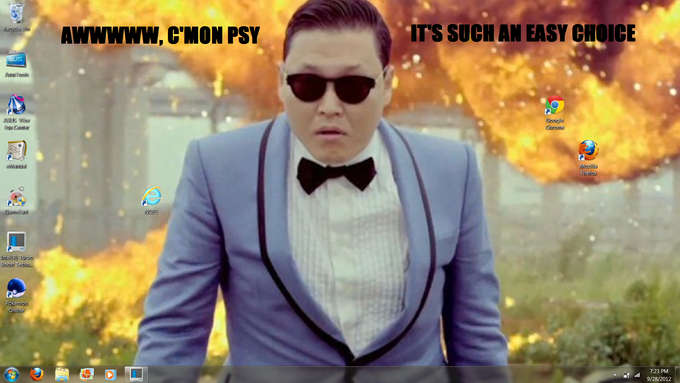 Psy's Choice