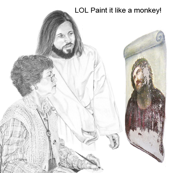 Paint it like a monkey