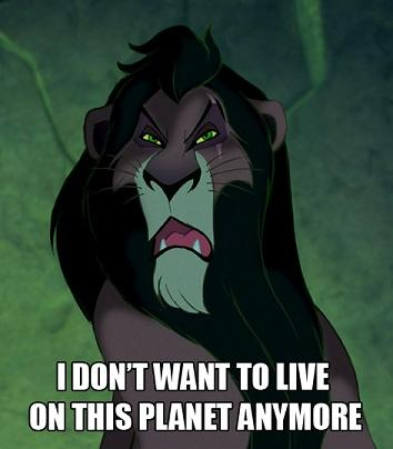 Scar doesn't want to live