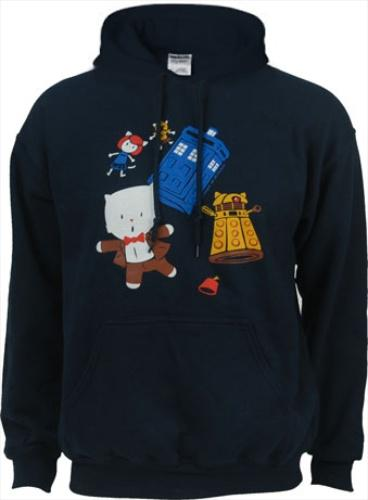Dr. Who hoodie from LOLmart