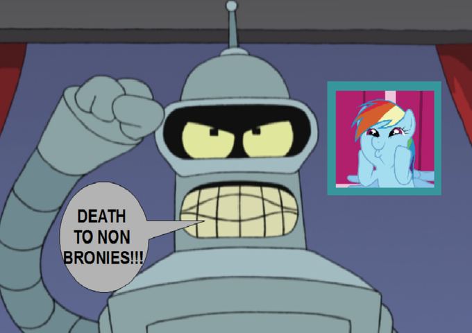 Bender Is Extremist Brony