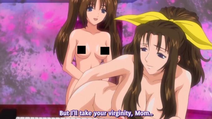 Daughter Taking Mother's Virginity