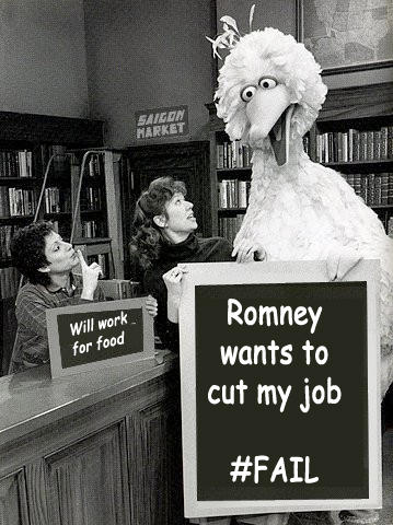 Romney Wants to Cut My Job