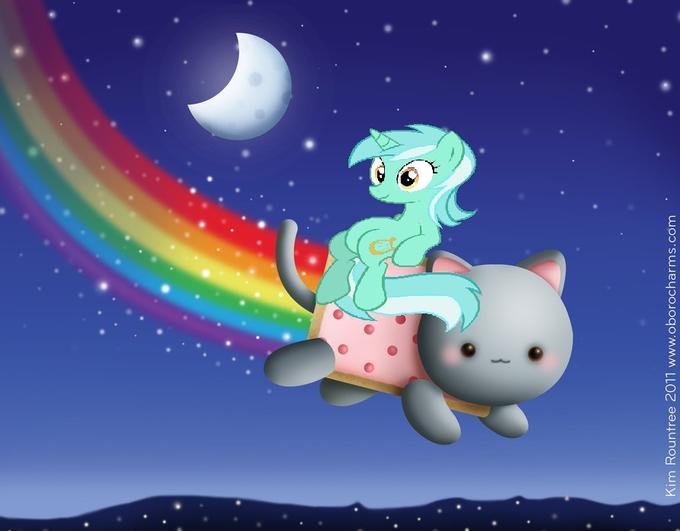 Lyra on Nyan (Nyra)