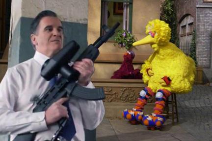 Romney Prepares to Kill Big Bird