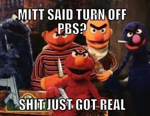 Romney just walked into the wrong neighborhood!
