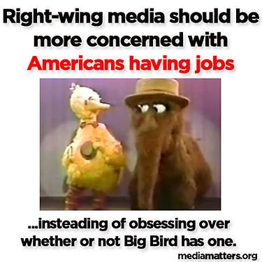 Big Bird Responds to Right Wing Media