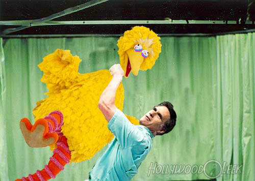 Mitt Strangles Big Bird