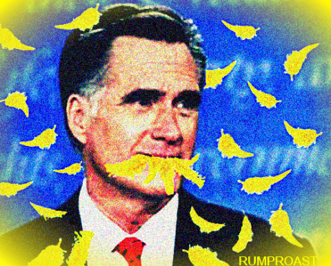 Mitt Eats Big Bird
