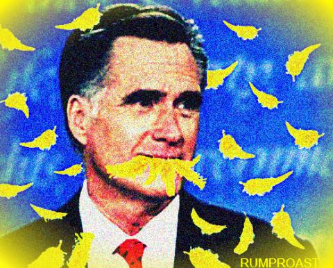 Mitt Eats Big Bird