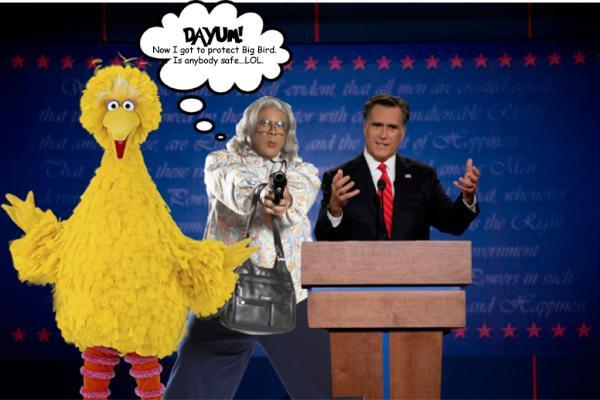 Dayum! I gotta Protect Big Bird.
