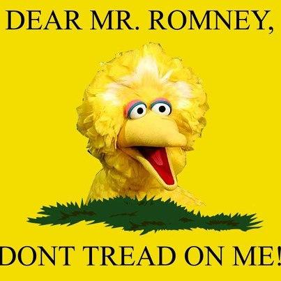Dear Mr. Romney, Don't Tread on Me