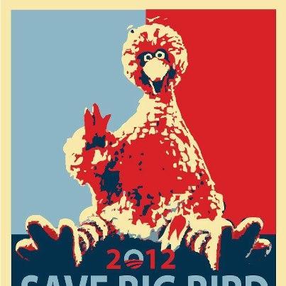 Save Big Bird 2012 Logo