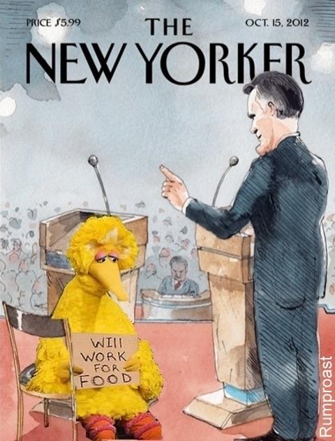 Romney Scolding Big Bird