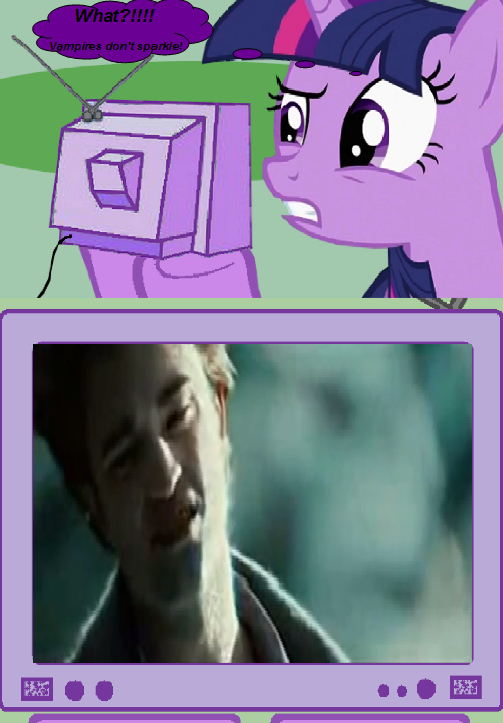 Twilight Sparkle Watches Edward Cullen Sparkle