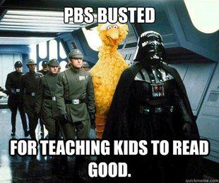 PBS Busted for Teaching Kids to Read Good