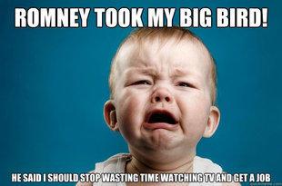 Romney Took My Big Bird!