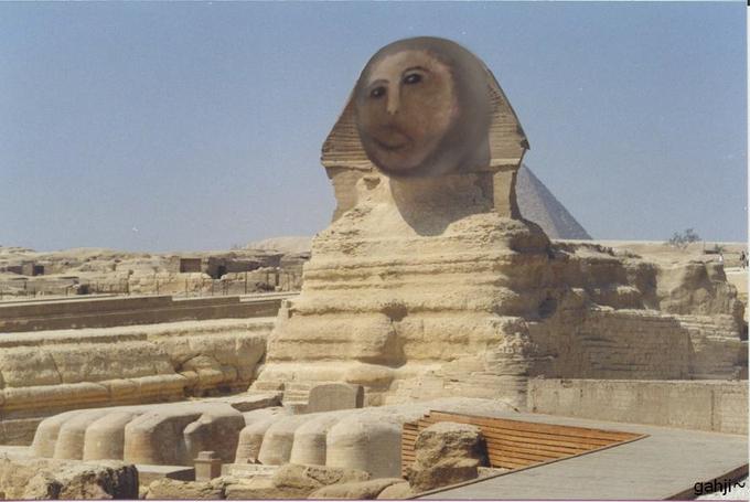 Ecce homo sphinx