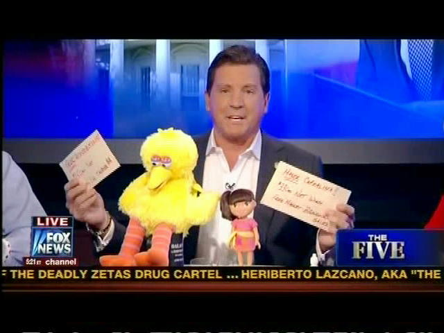 Big Bird on Fox