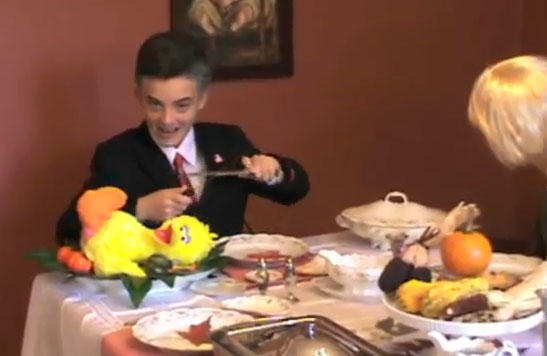 Little Romney Child Kills Big Bird