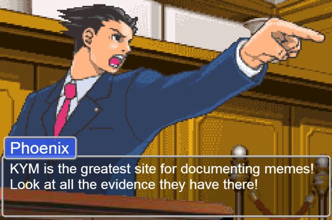 477 phoenix wright ace attorney know your meme,Phoenix Wright Memes